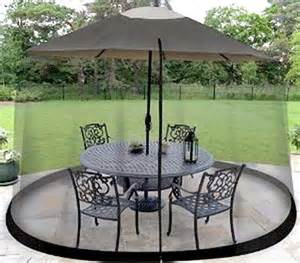 Patio Umbrella With Netting by Patio Umbrella Mosquito Nets