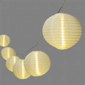 Lampion Lichterkette Solar : lampion lichterketten mit 20 cm lampions und 30 led ~ Watch28wear.com Haus und Dekorationen