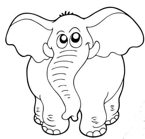 disegni da colorare e stare animali animali da stare e colorare elefante blogmamma it