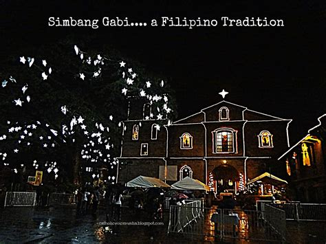 The simbang gabi mass, which usually focuses on how one becomes prepared for christmas, is celebrated with particular attention and style. Catholic Voice Media: Simbang Gabi - Las Piñas Bamboo ...