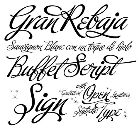 Calligraphy Font by Calligraphy Alphabet March 2013