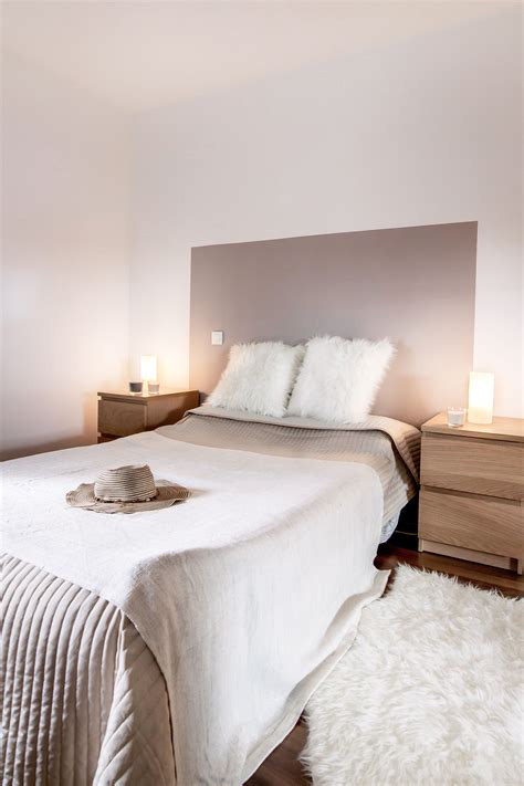 quelle plante pour une chambre à coucher chambre decoration taupe et blanc beige bois diy tete de