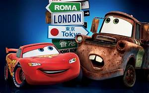 Cars 2 Movie U2019 Lightning Mcqueen And Tow Mater Widescreen