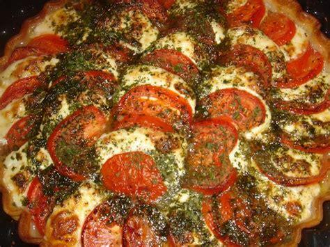 recette tarte mozzarella tomates pate bris 233 e tomate