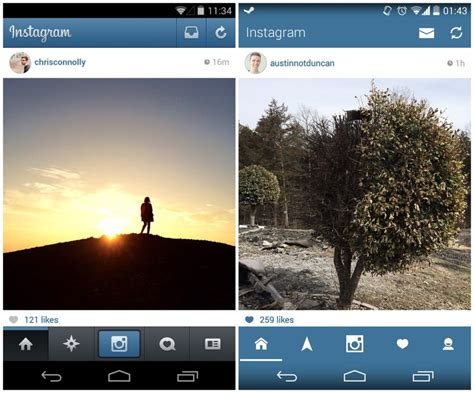 instagram app android instagram for android gets an unofficial holo makeover