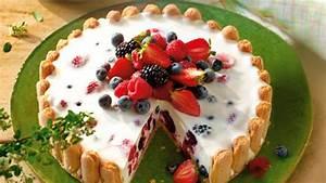 Torte Mit Frischkäse : zitronen frischk se torte mit beeren ~ Lizthompson.info Haus und Dekorationen