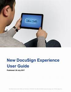 New Docusign Experience User Guide