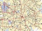 Dallas, Texas Map