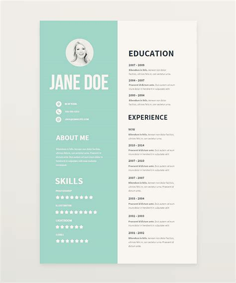 Free Cv Templates To Use by Clear And Pretty Resume Templates We Ve Made To Boost Your
