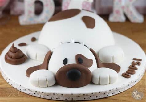 oups le chien en p 226 te 224 sucre f 233 erie cake