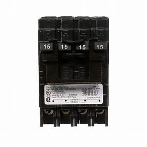 Siemens 15 Amp Double