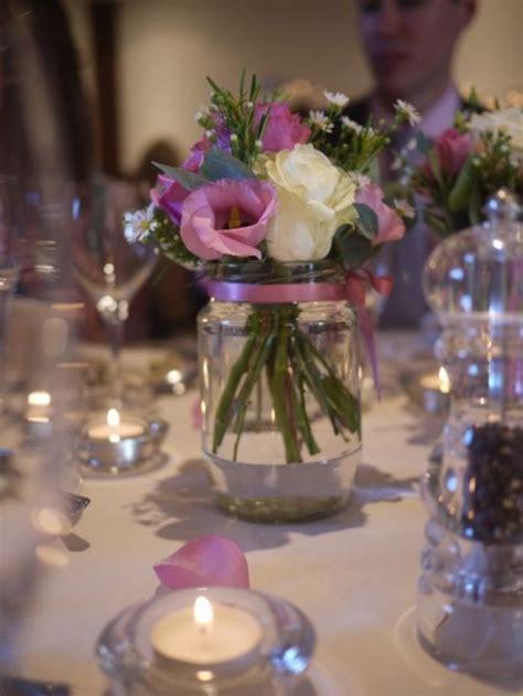 centros de mesa  casamiento  botellas frascos