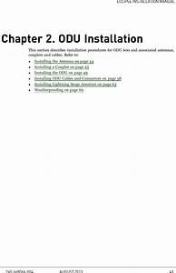 Aviat Networks Odu600lb Eclipse Odu 600 User Manual Eclipse