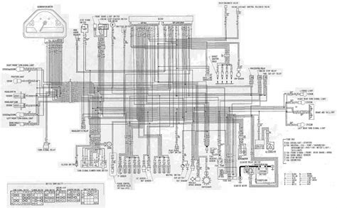 Honda Cbrrr Motorcycle Wiring Diagram All About