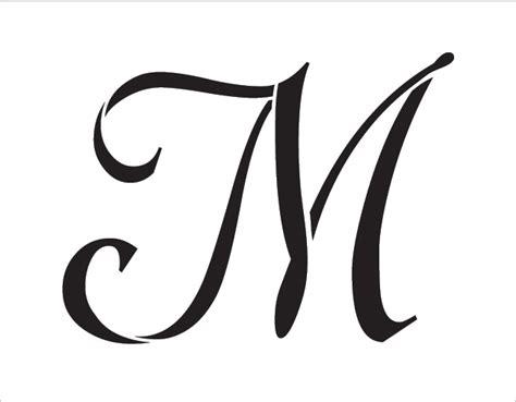 graceful monogram stencil   stcl  studior