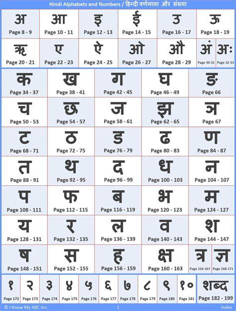 hindi alphabet order gallery alfabeto diferente hindi