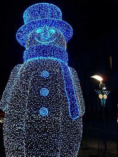 lighted snowman christmas pinterest