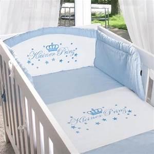 Bettwäsche Set Baby : baby bettw sche set 2 tlg kleiner prinz ebay ~ Markanthonyermac.com Haus und Dekorationen