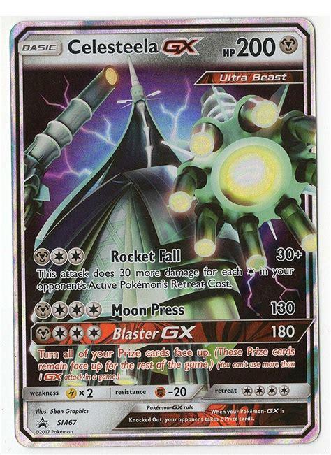 Pokemon cards can be tricky to grade yourself. Pokemon - Celesteela GX SM67 Ultra Beast Card - Holo Foil - Promo (Normal Size)   eBay