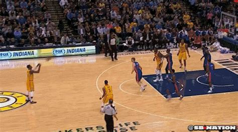 paul george hits  obscenely deep  pointer