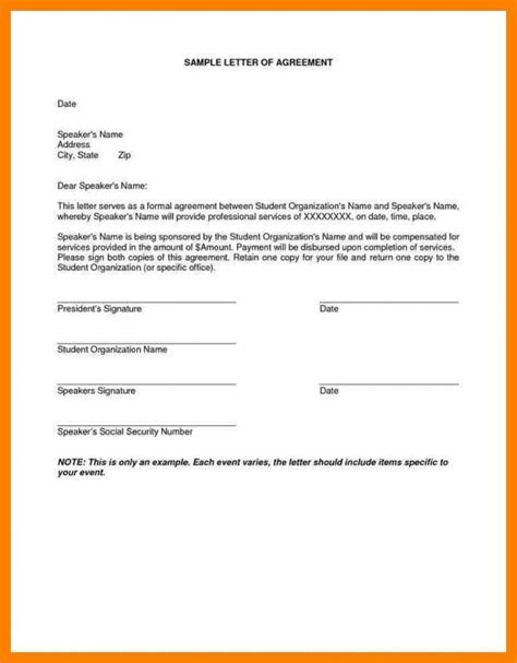 installment payment agreement template payoff letter