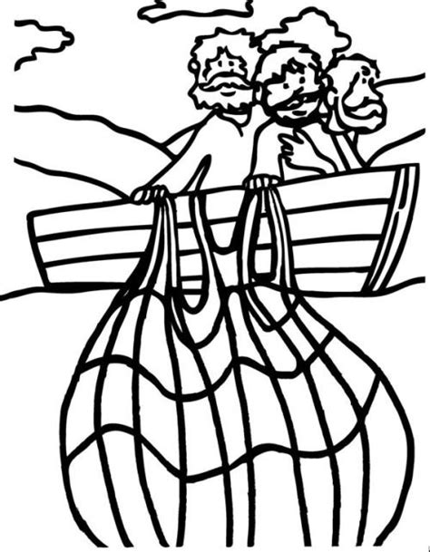 Jesus Fishing Boat Coloring Page by Jesus Fishing Boat Coloring Pages