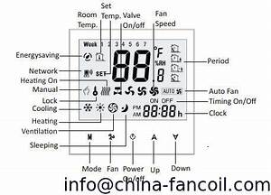 smart wifi thermostat for fan coil units 2 pipe or 4 pipe With fan coil unit controller thermostat view touch screen thermostat