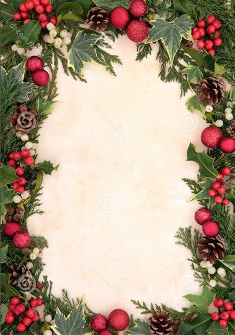christmas border decorations christmas lights card and