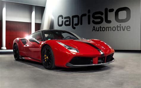 2016 Capristo Automotive Ferrari 488 Gtb Wallpaper