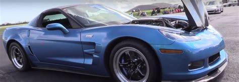 hp chevrolet corvette zr grabs ls top speed record