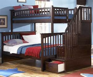 Fascinating Full Over Twin Bunk Beds With Stairs