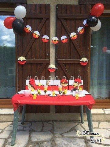 idee de decoration danniversaire pokemon anniversaire