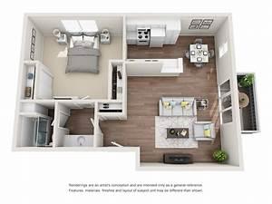 1, Bedroom, Condo, Floor, Plan
