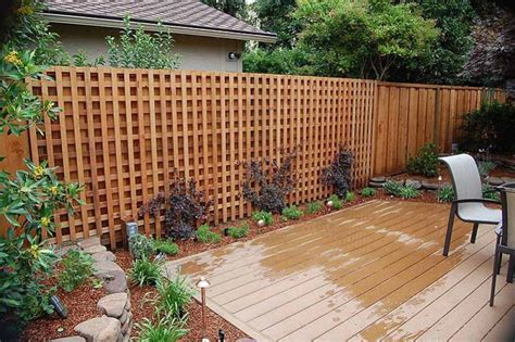 lattice fence panels lowes design ideas  lattice