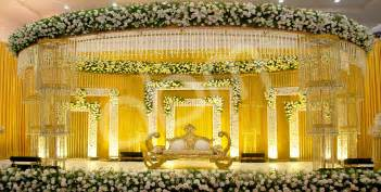 abm decorators alleppey kerala wedding stage decoration