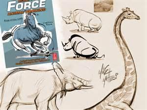 sponsor news animal drawing workshop   sleeping