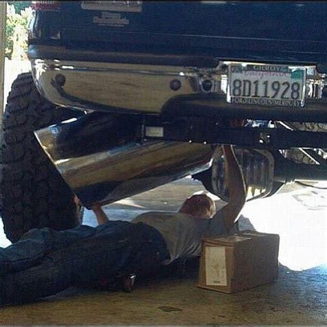 Diesel Tips Meme - thats a mans exhaust tip trucks pinterest tips