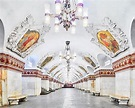 The Hypnotizing Beauty Of Russia's Historic Metro Stations ...
