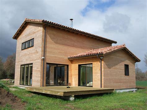 maison bioclimatique en ossature bois 224 233 tage partiel