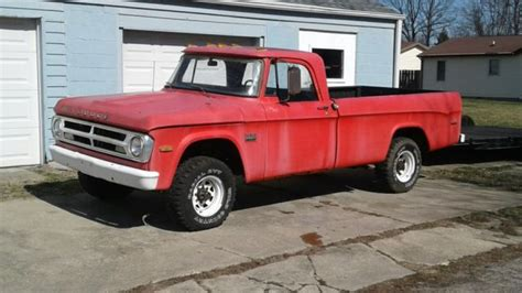 For sale worldwideover 115 full size pictures to view click this link below. 1971 W200 Dodge Power Wagon 1968 1969 1970 for sale ...