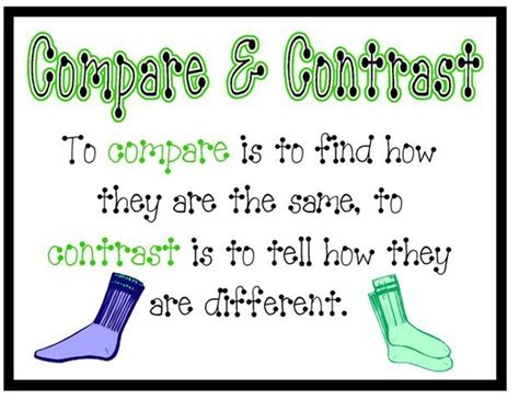 17 Best Images About Comparecontrast On Pinterest  Shops, Military And Compare And Contrast