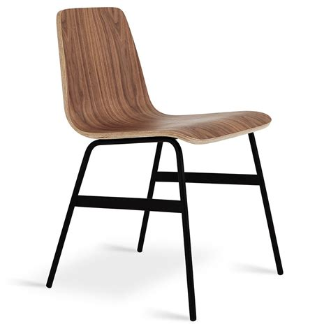 walnut dining chairs gus modern lecture dining chair in walnut eurway 6459