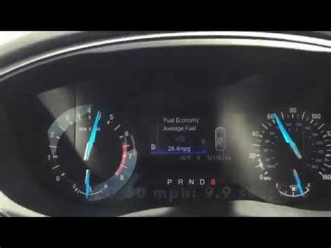 Ford Fusion 0 60 by 2016 Ford Fusion 0 60 Mph