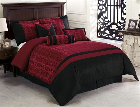 Classic Euro Bedroom Ideas,red