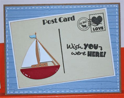 Love Boat Ice Cream Gift Card by Scrappy Mel Introducing Happy Mail And Ice Cream Social