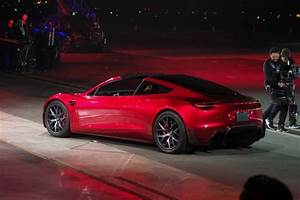 Tesla unveils Roadster 2 with 0 to 60 mph in under 2 seconds