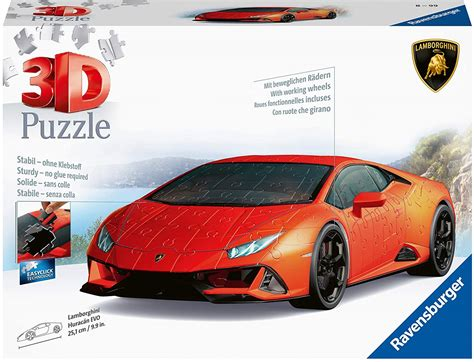 If someone said to me that you can have three wishes, my first would have been. Puzzle 3D - Lamborghini Ravensburger-11238 108 pièces Puzzles - Voitures, Motos et Camions