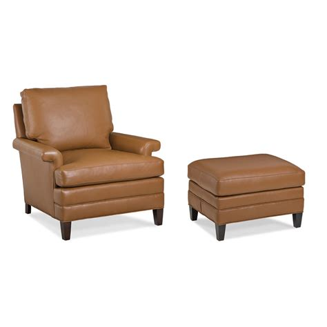 hancock and moore leather chair and ottoman hancock and moore nc360 1 hawkins chair and ottoman