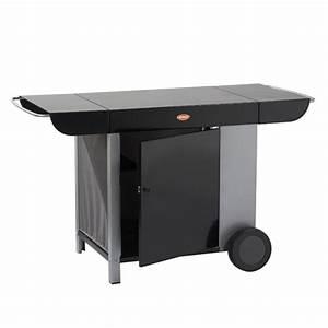 Meuble Pour Plancha : meuble en m tal peint pour plancha mania eno oogarden france ~ Melissatoandfro.com Idées de Décoration