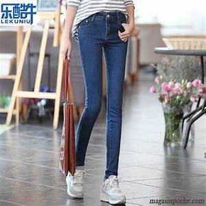 Jean Homme Taille Basse : jean slim femme taille basse slim jeans mince extensible middle waisted pantalon femme pantalons ~ Melissatoandfro.com Idées de Décoration